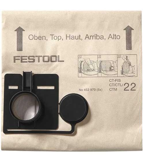 Festool filtras-maišas FIS-CT 22/5
