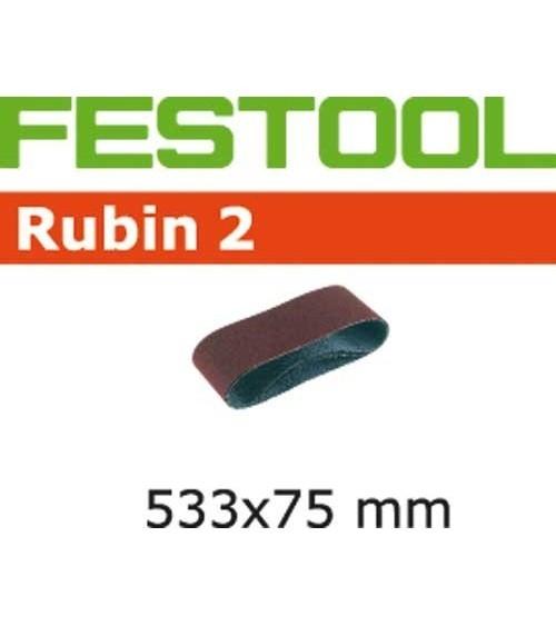 Festool šlifavimo juosta BS75/L533x75-P80 RU2/10