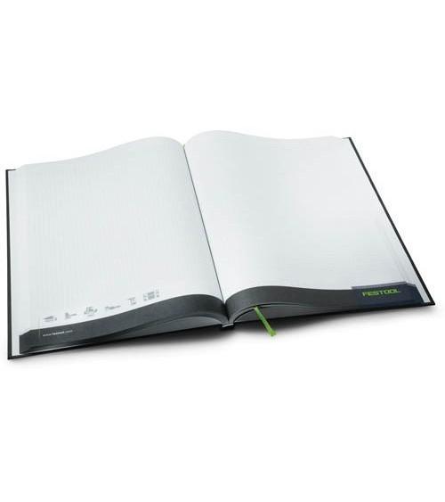 Užrašų knygutė Festool (200 psl.) DIN A4
