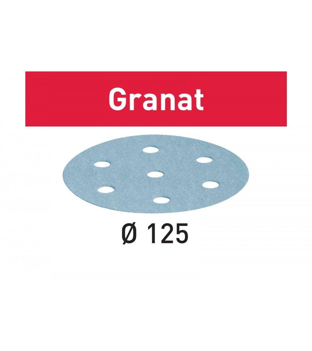 Festool šlifavimo popierius Granat STF-D125/90-P500-GR100X
