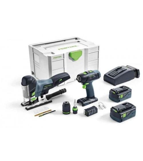Festool akumulatora plakņu slīpmašīna RUTSCHER RTSC 400 Li 3,1-Plus