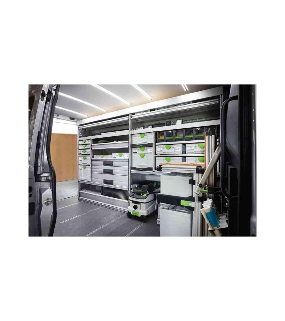 Festool mobilūs dulkių siurbliai CLEANTEC CTL 36 E AC-LHS