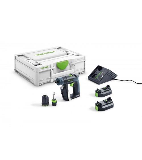 Festool montāžas zāģis CS 70 EBG-Set