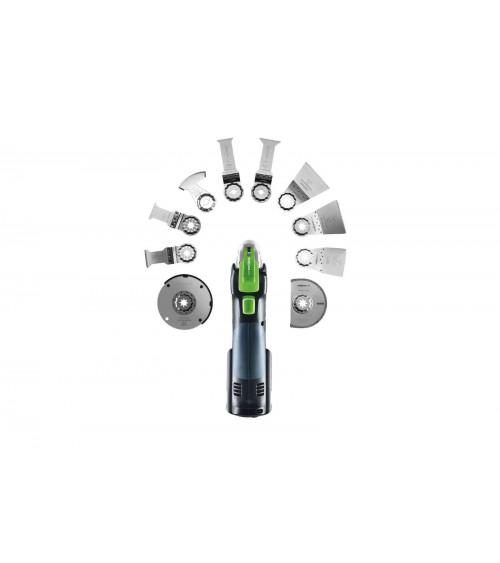 Festool akumulatora dimanta griešanas sistēma DSC-AGC 18-125 FH Li 5,2 EBI-Plus
