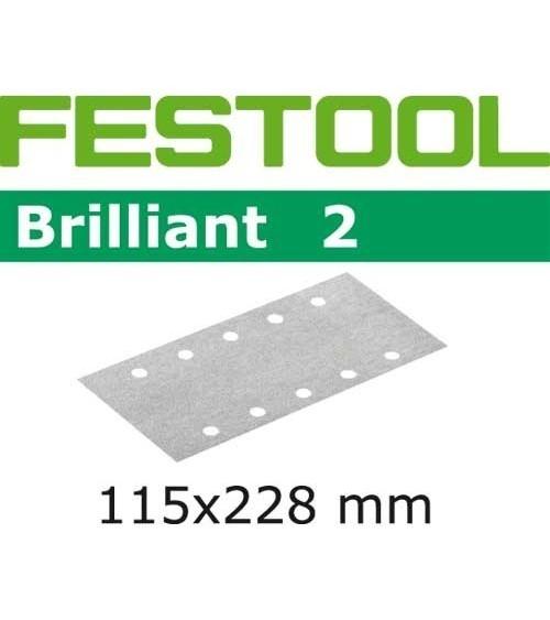FESTOOL Šlifavimo medžiaga STF 115x228 P100 BR2/100