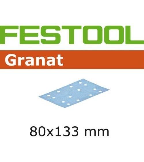 FESTOOL Šlifavimo medžiaga STF 80x133 P120 GR/100