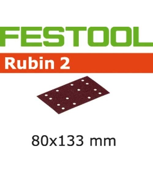 FESTOOL Šlifavimo medžiaga STF 80X133 P100 RU2/50